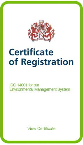 IS0 14001 Certificate logo